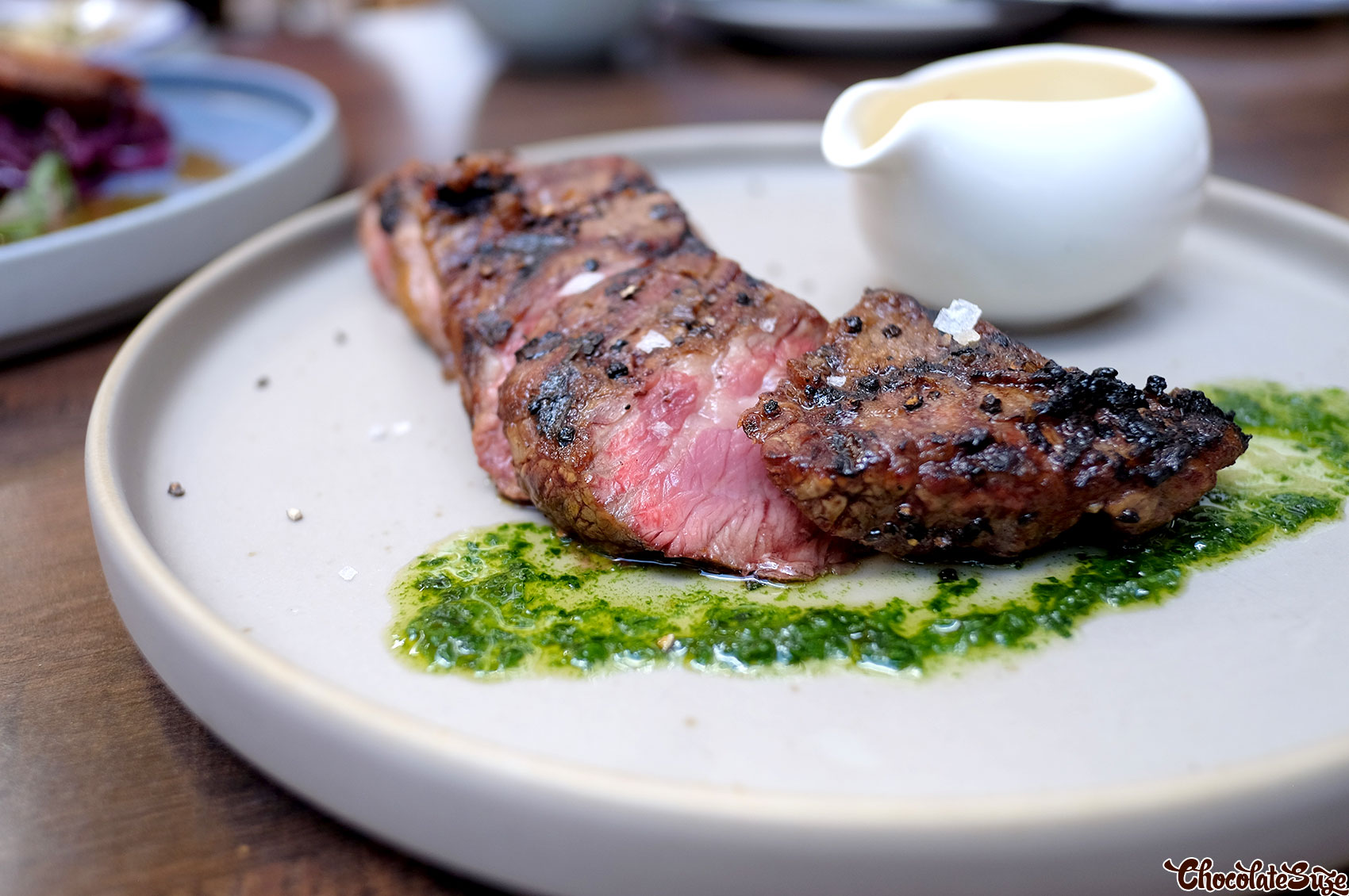 Flank steak at Beast & Co, Surry Hills