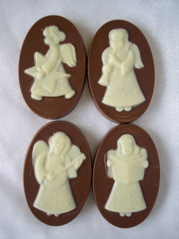 The Chocolate House White Chocolate Church Angels