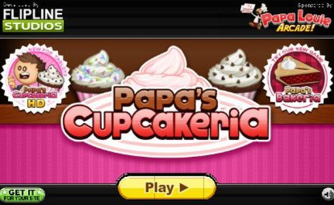 Coolmath Com Papa S Cupcakeria