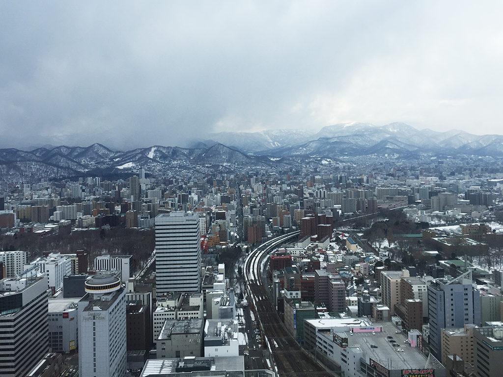 札幌駅西側