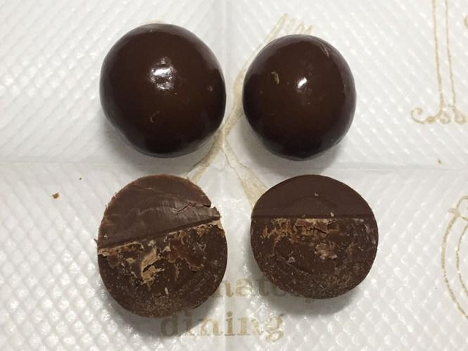 『明治』の「おいしいoff砂糖50%オフまろやかミルクチョコレート」固いチョコ