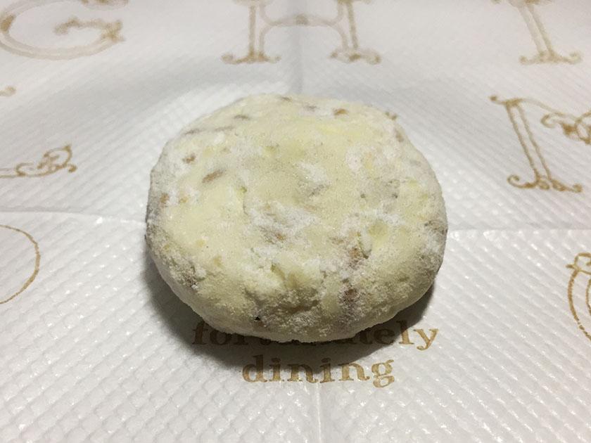 『柳月』の「涼み雪」白い焼きチョコ