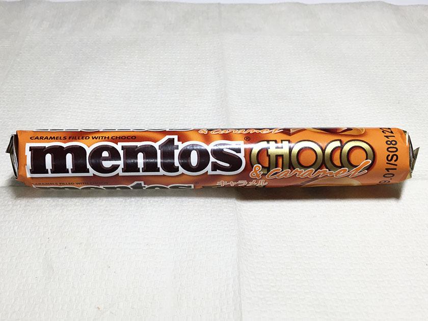 『メントス』の「チョコ&キャラメル」メントスなのにキャラメルとチョコ?