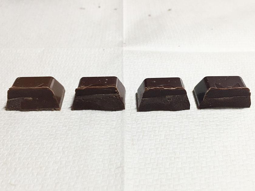 『不二家』の「ルック4チョコレートコレクション」中には何も入っていない
