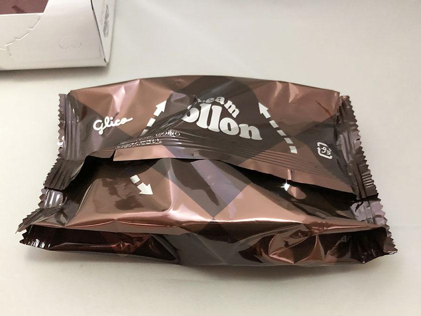 『グリコ』の「クリームコロン大人のショコラ」個包装じゃない