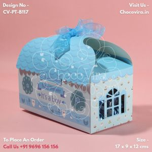 baby boy announcement box patterns