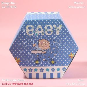 baby boy announcement chocolate gift boxes for families
