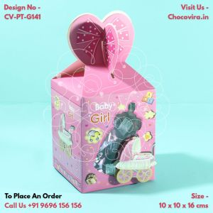 baby girl chocolate boxes