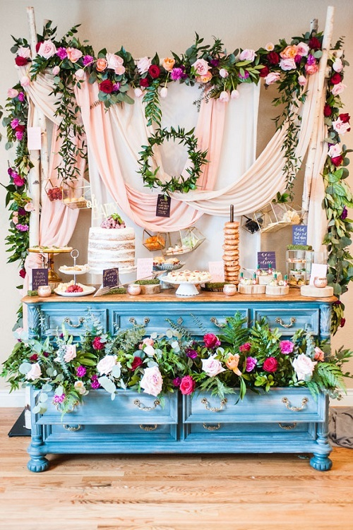 Floral Themed Baby Shower