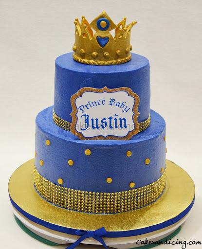 Prince Theme Birthday Cake