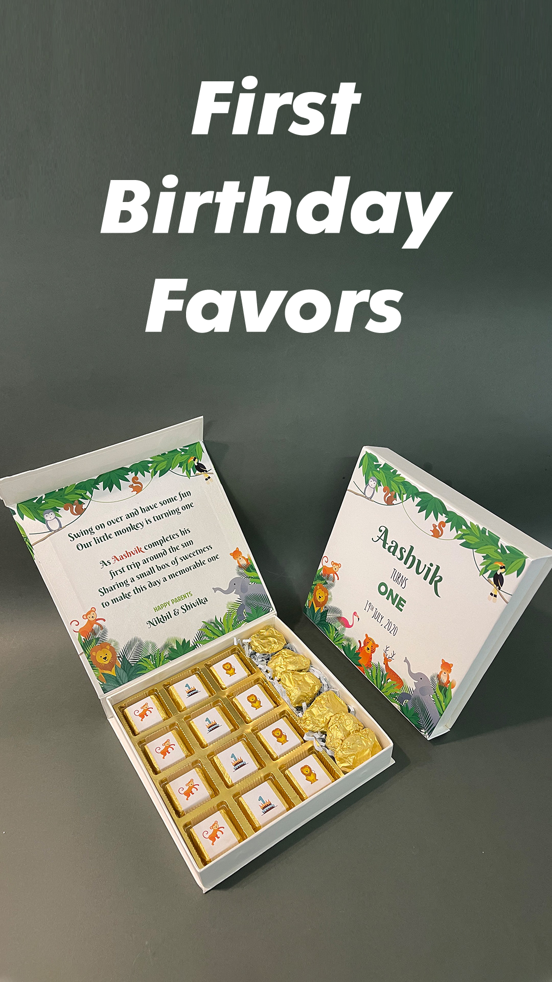 return gifts for birthday party first