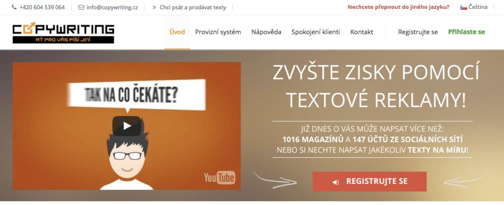 Copywriting.cz - recenzia
