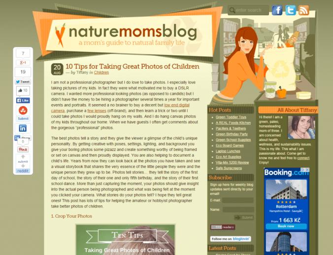 Blog ako typ affiliate webu