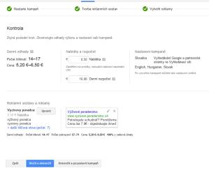 Google AdWords - STEP 3