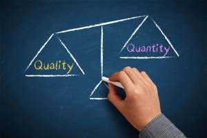 Kvalita vs. kvantita v linkbuildingu V linkbuildingu je dôležitá kvalita odkazov, nie počet!