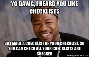 Outsourcing - checklisty