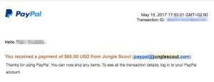 Výplata - JungleScout