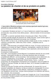Bien Public 2007-02-26