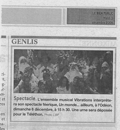 Bien Public 2009-12-01