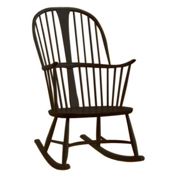 Ercol Originals Chairmakers Rocking Chair Coloured Finish