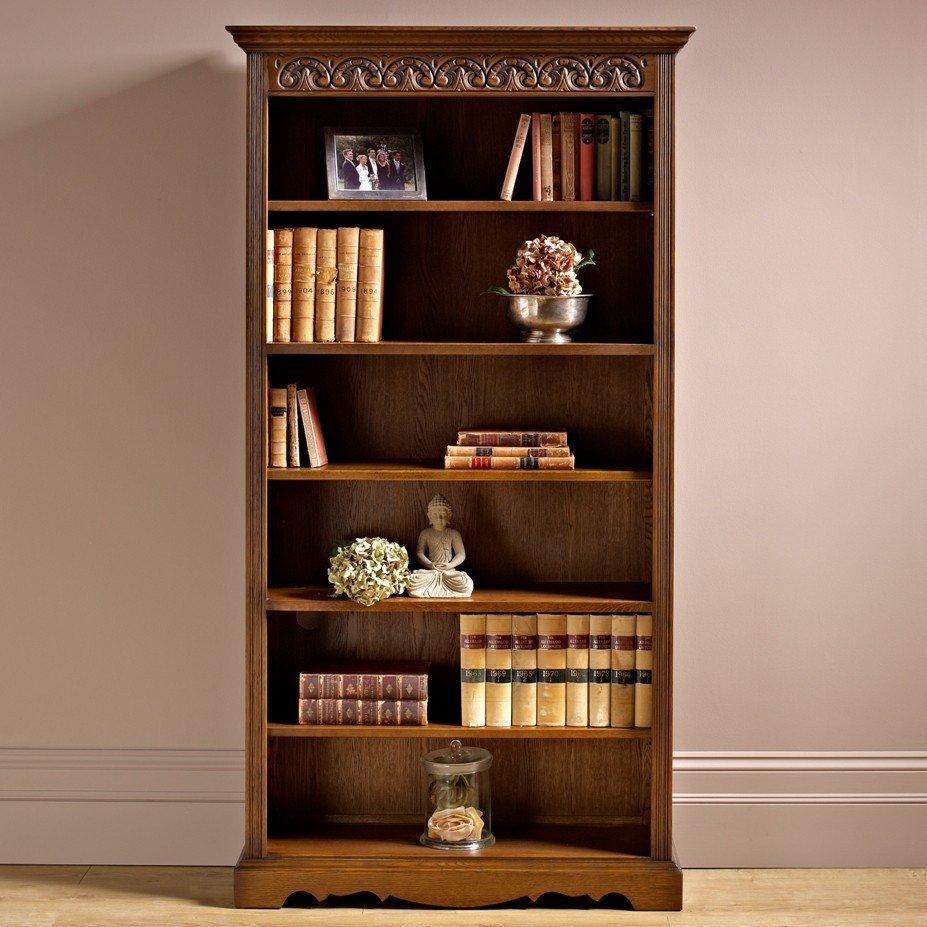 Wood Bros Bookcase  Choice Furniture