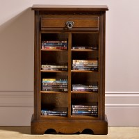 Wood Bros. DVD/CD Storage Cabinet | Choice Furniture