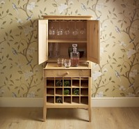 Drinks Cabinet Open small | Choice Furniture