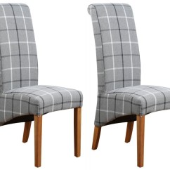 Fabric Dining Chairs Uk Faux Leather With Arms Buy Mull Granite Chair Pair Online Cfs