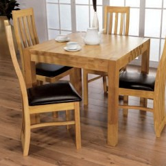 4 Chair Dining Set Accent Covers For Sale Buy Eve Natural Oak Square With Chairs 90cm Online Request A Callback