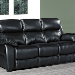 3 Seater Sofa Black Leather Large Pillows For Back Buy Lucca Online Cfs Uk Request A Callback
