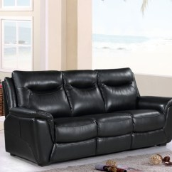 3 Seater Sofa Black Leather Corner Sectional Slipcover Buy Siena Online Cfs Uk Request A Callback