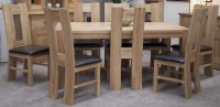 Buy Homestyle GB Trend Oak Dining Set - Large with 8 High ...