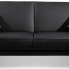 Faux Leather Sofa Bed Uk 2 Seater And Armchairs Buy Julian Bowen Supra Black Online Cfs