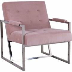Velvet Armchair Pink Beach Chairs And Umbrella Bentley Curtisandbains