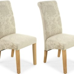 Ivory Dining Chairs Uk Chair Light Stand Buy Shankar Jacquard Floral Scroll Back Fabric