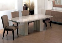 Buy Stone International Roma Chiselled Edge Marble Dining ...