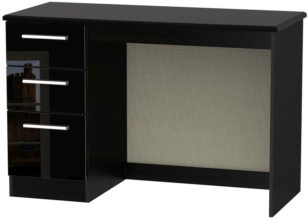 Online Black Desk WellDesigned Black Desk
