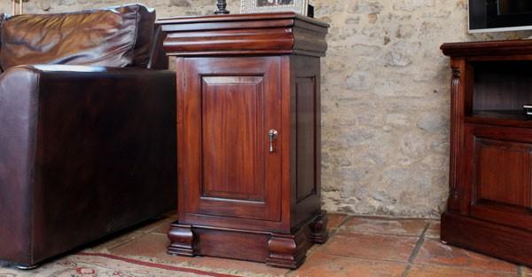 dark wood living room furniture 2 pc set cfs range end table