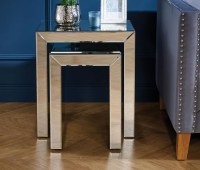 Buy Valencia Mirrored Nest of Tables Online - CFS UK