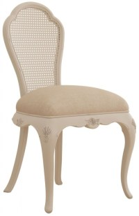 Willis and Gambier Ivory Bedroom Chair, Ivory Chair