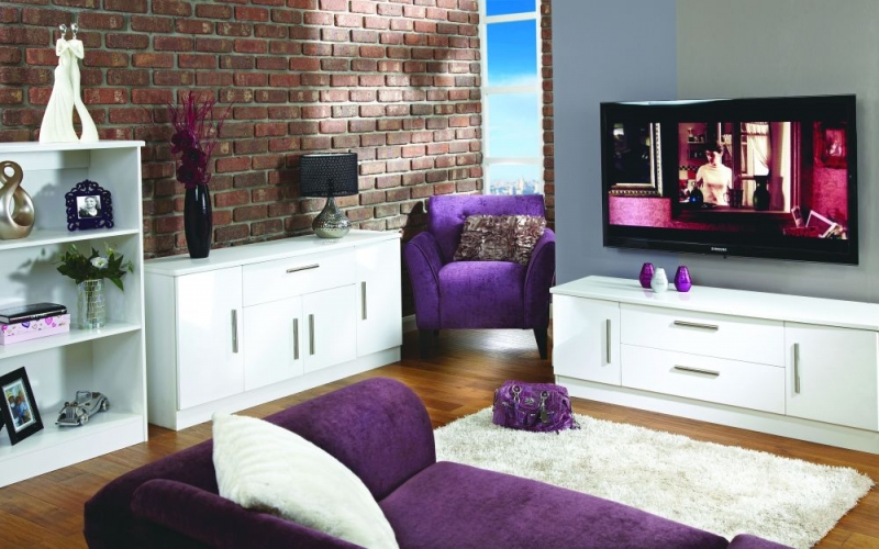 white gloss living room furniture what color should i paint my to make it look bigger buy welcome high bookcase online request a callback
