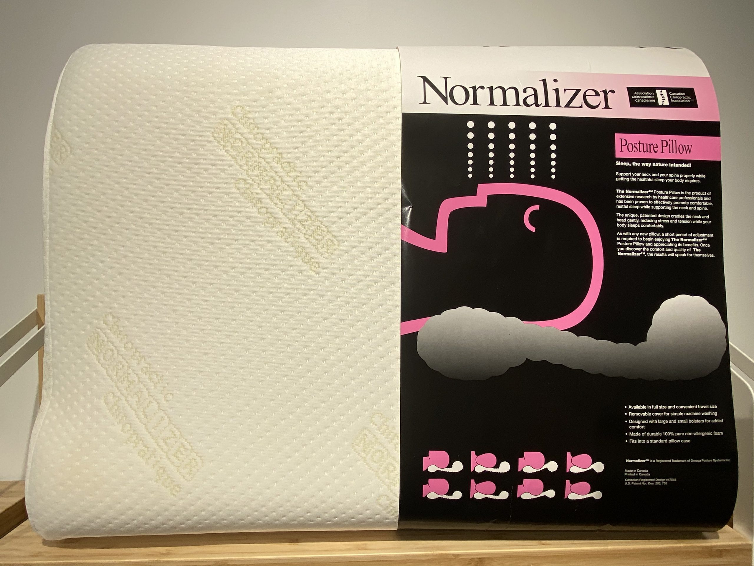 normalizer posture pillow