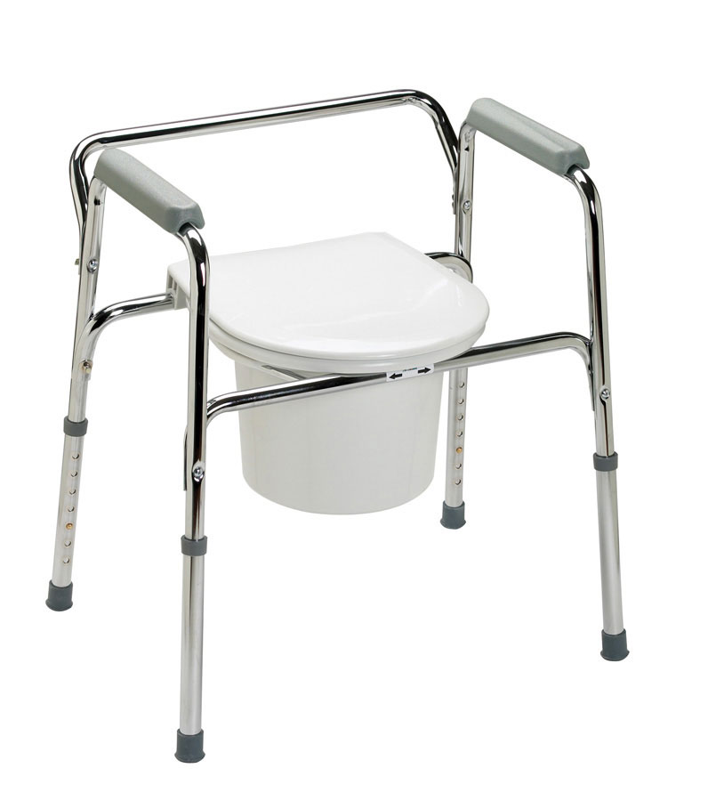 Toilet chair for patients three days potty training