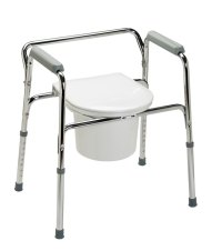Toilet chair for patients, three days potty training