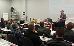 Conklin roof systems training