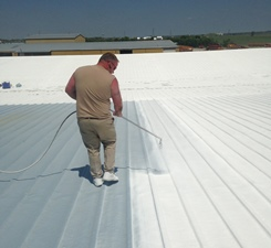 Since The Concept Of Sustainability Took Off In The American Construction  Industry In The 1970s, White Roof Coatings Have Become A More Common  Product Of ...