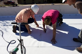 commercial roof contractors