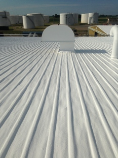 cons spray foam roofing