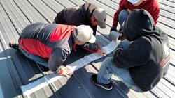 metal roof coating training