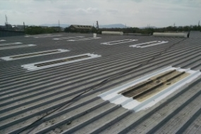Commercial Roofing Contractors In Our Group Use The Roofing Solutions  Manufactured By Conklin® For Metal Roof Repairs And Restoration Projects.